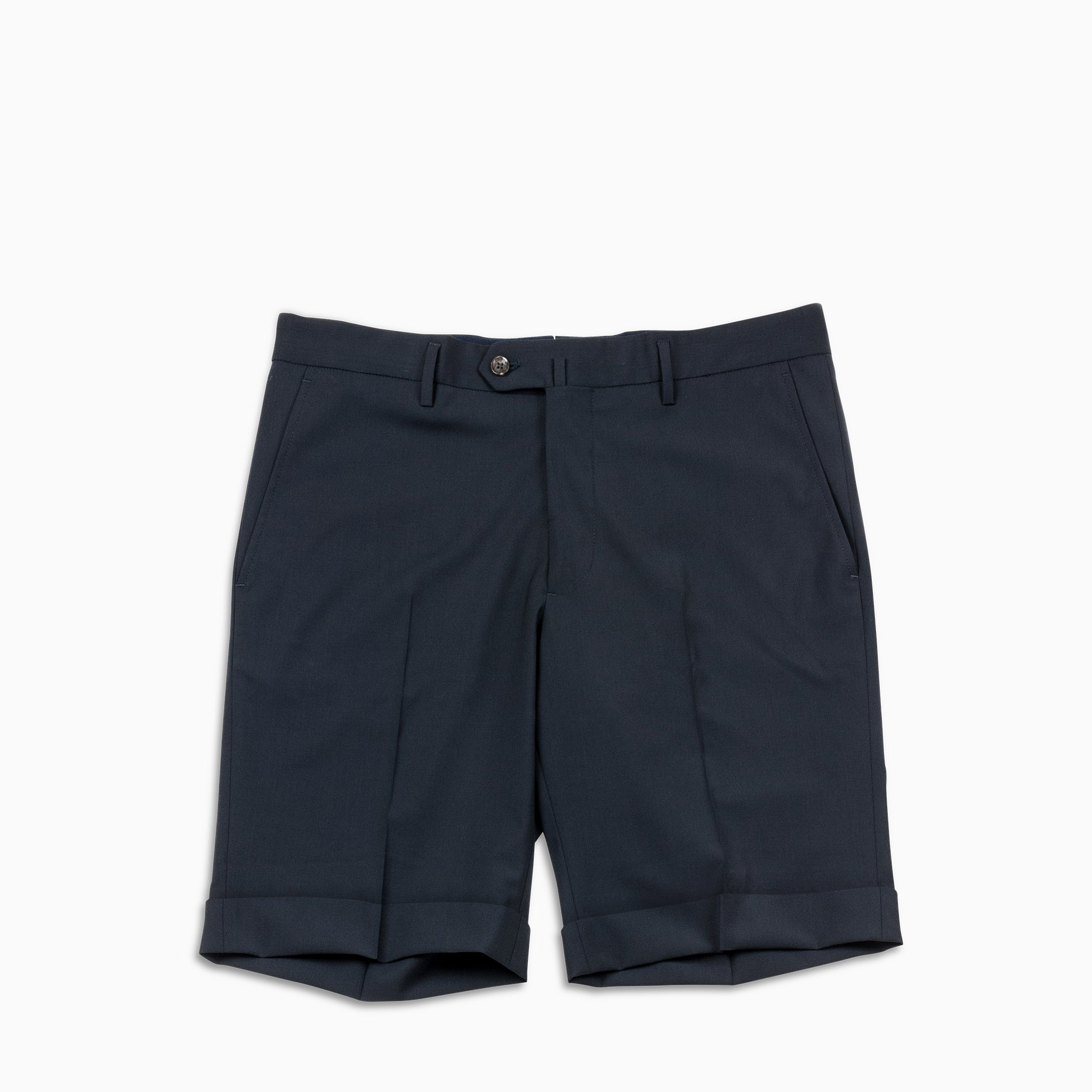 Bazile Folded Bermuda (dark blue)