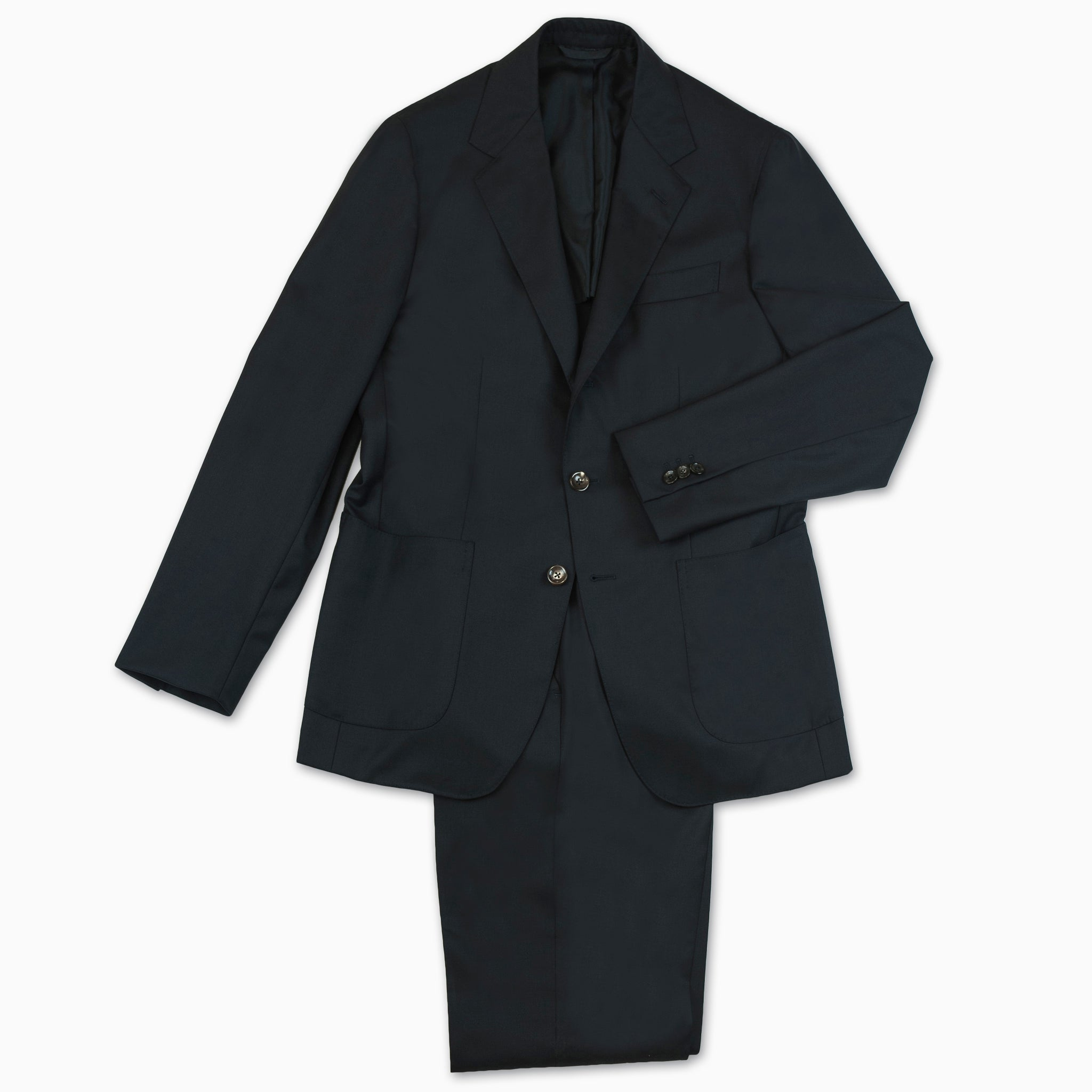 Suit Blazer and Pant in classic wool (dark blue)