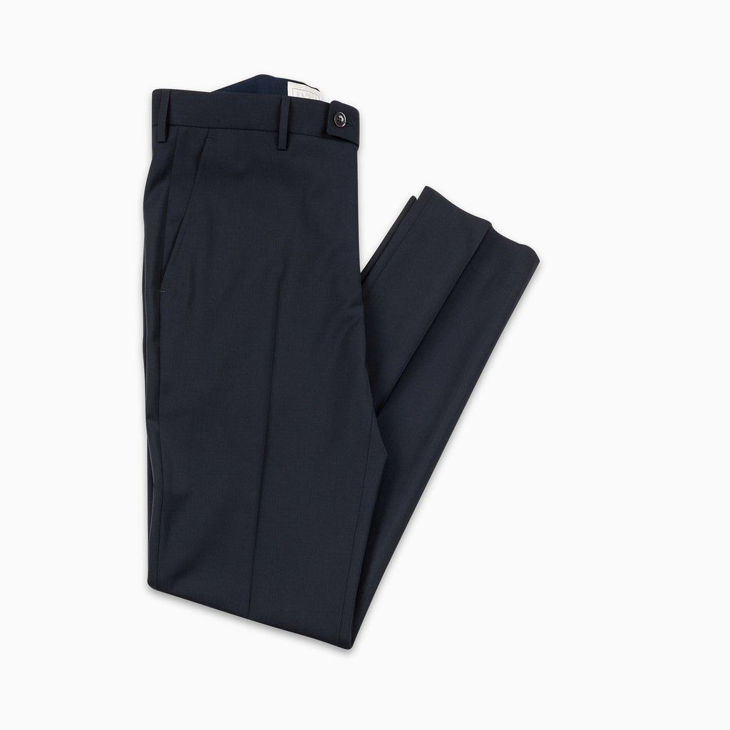 Boris Chino Pants Stretch Light Wool (dark blue)