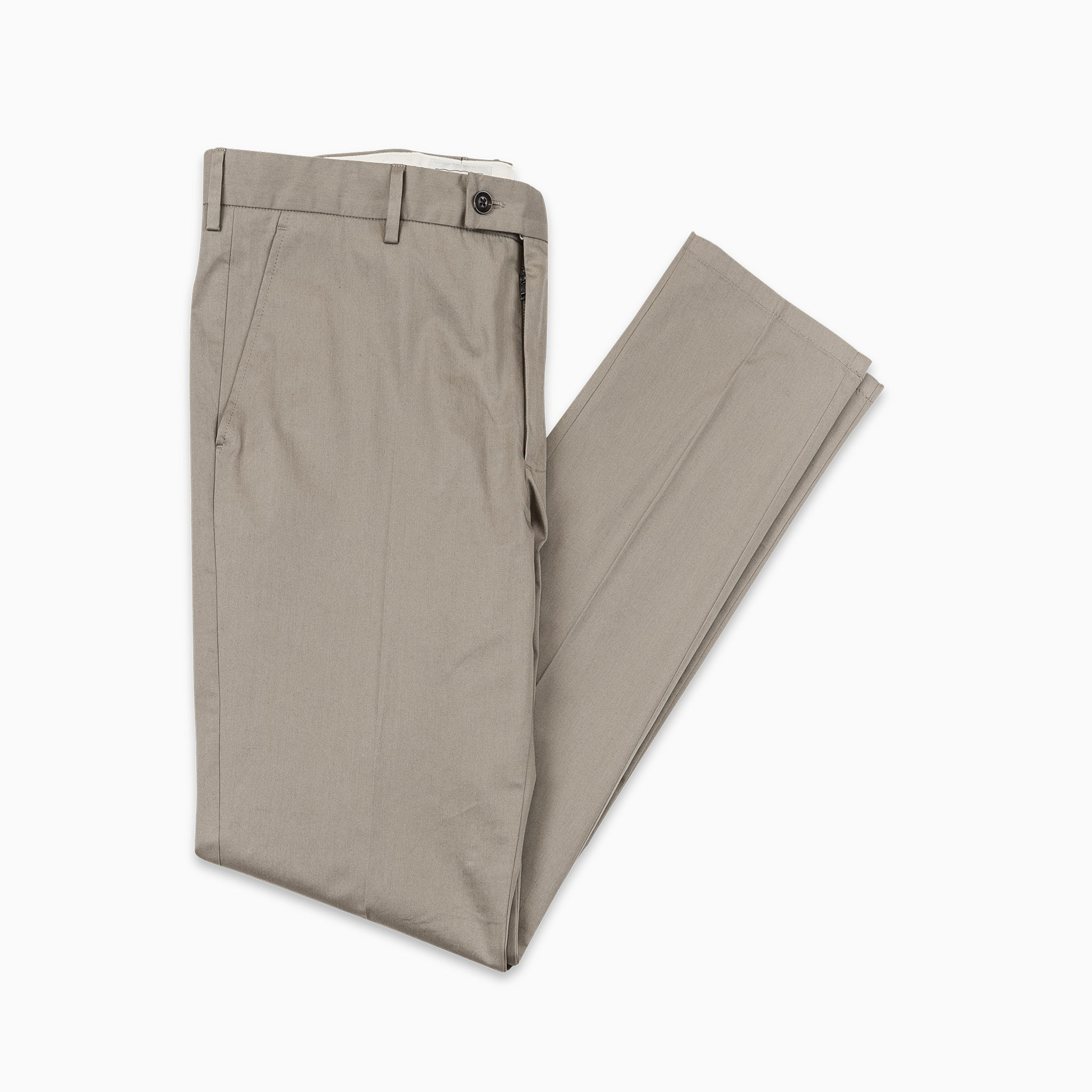b60a4fc07f Boris Chino Pants Fine Stretch Cotton Gabardine (khaki beige) — KA/NOA