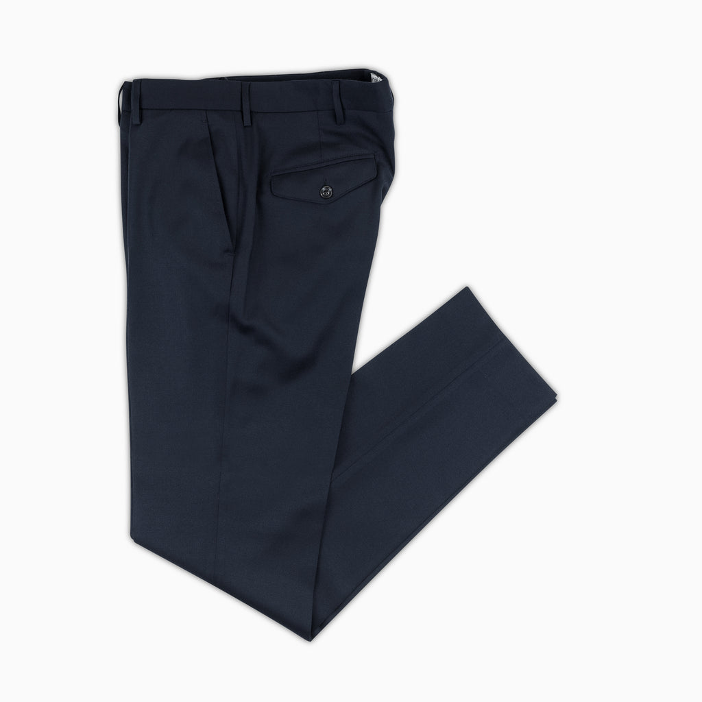 Boris Chino Pants Wool Cashmere (dark blue)