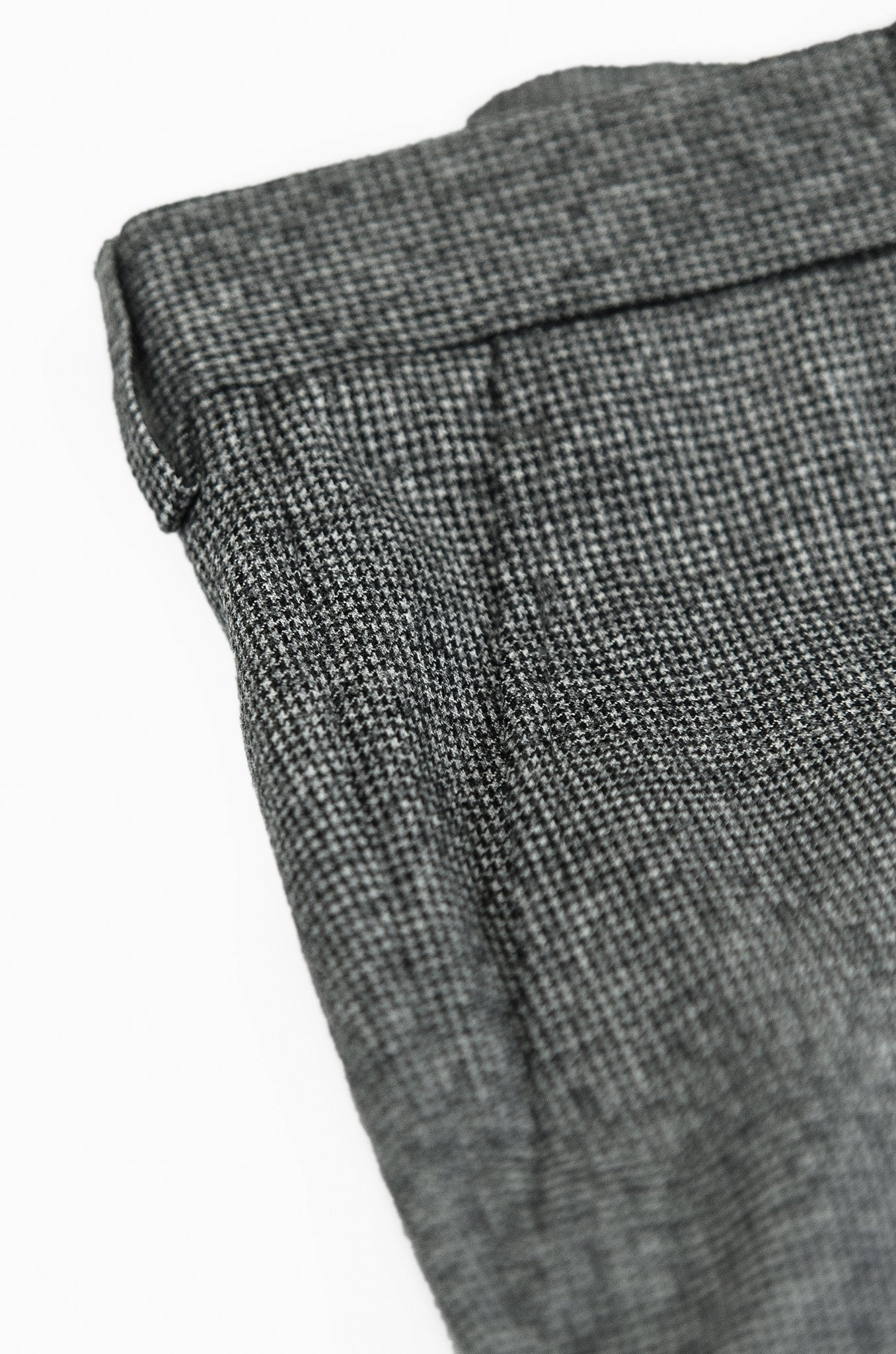 Boris Chino Pants Wool 120'S (pied de poule)