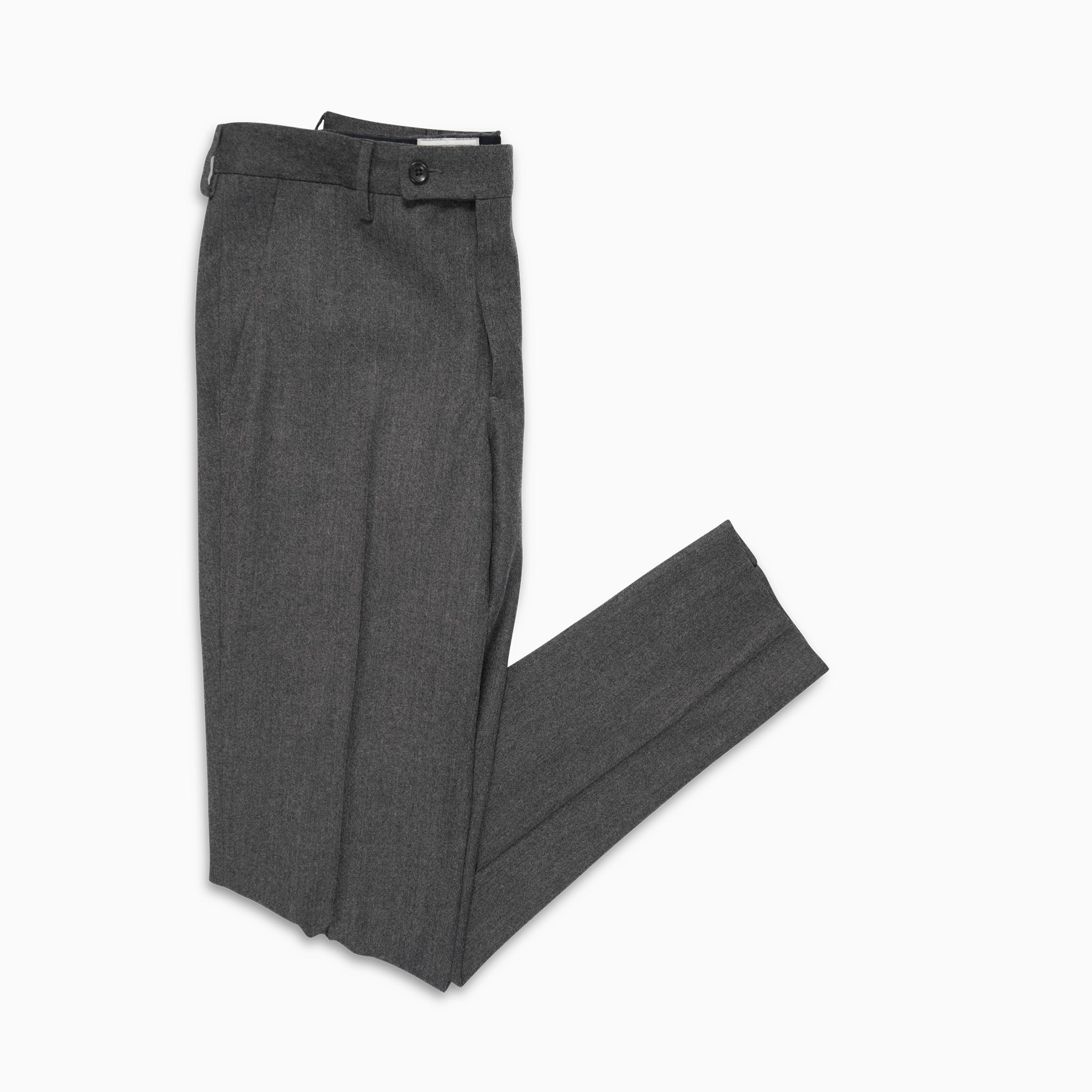 Boris Chino Pants Wool Cashmere (grey melange)
