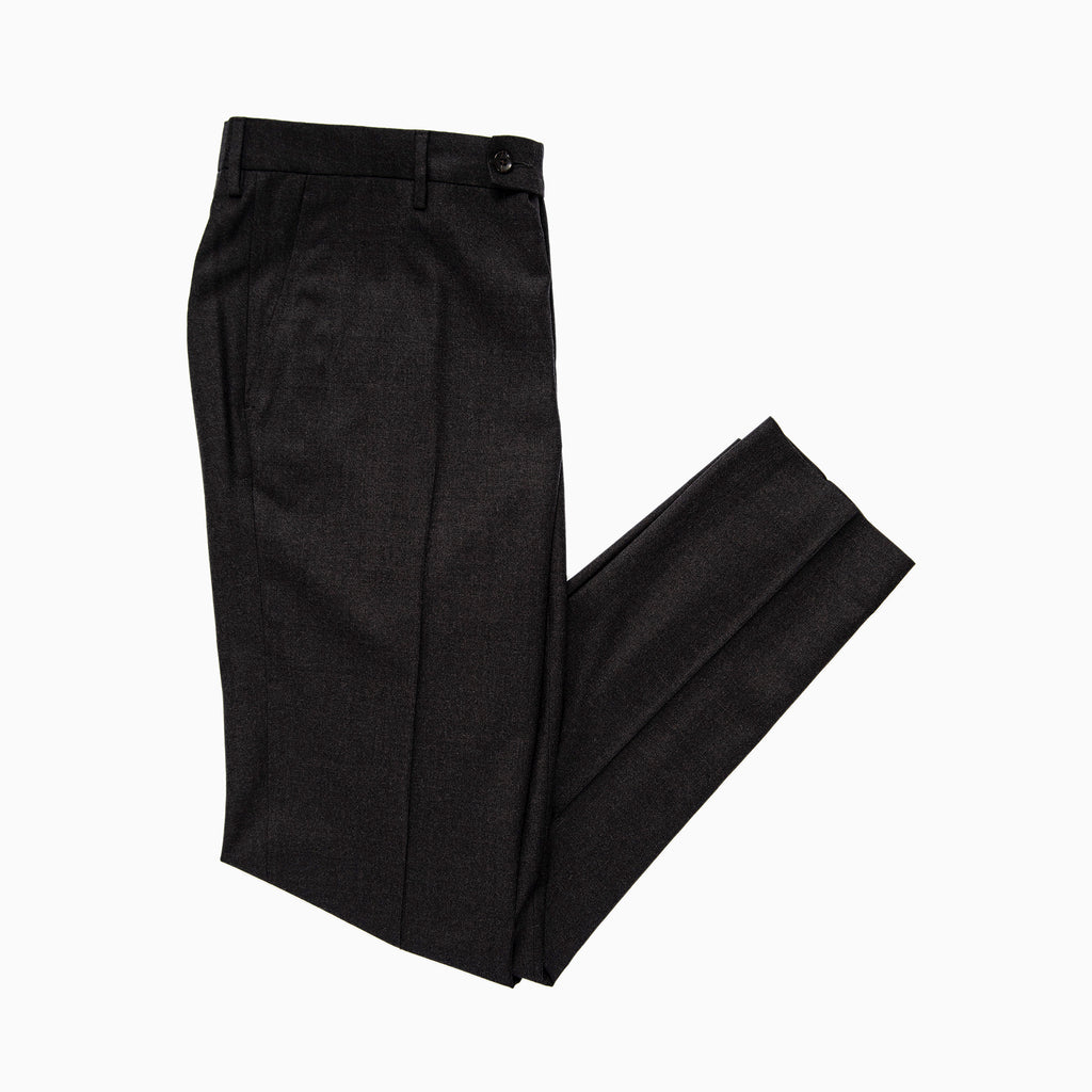 Boris Chino Pants Active Wool (Dark Grey Melange)