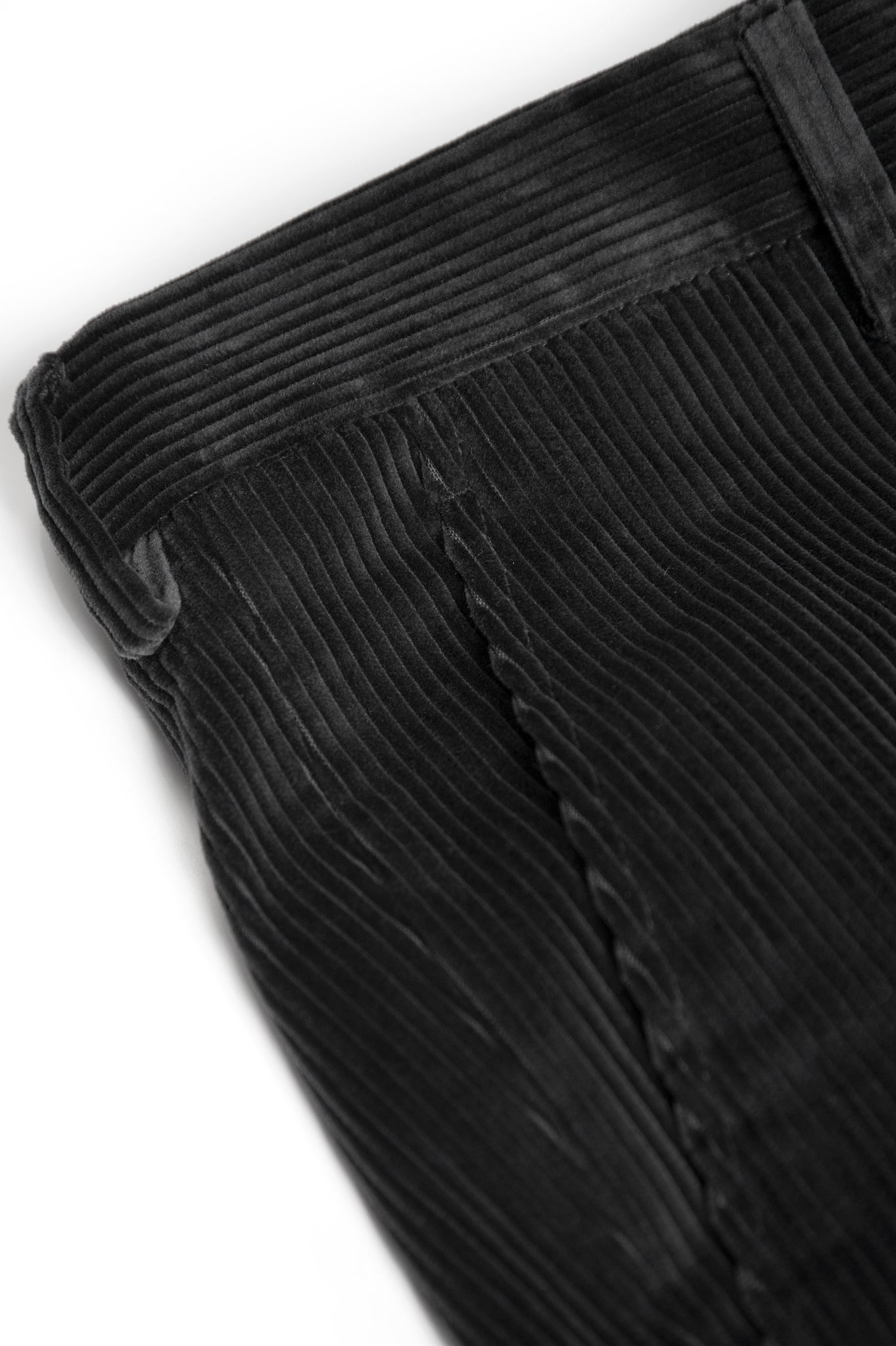 Boris Chino Pants Soft Cotton Corduroy (charcoal)