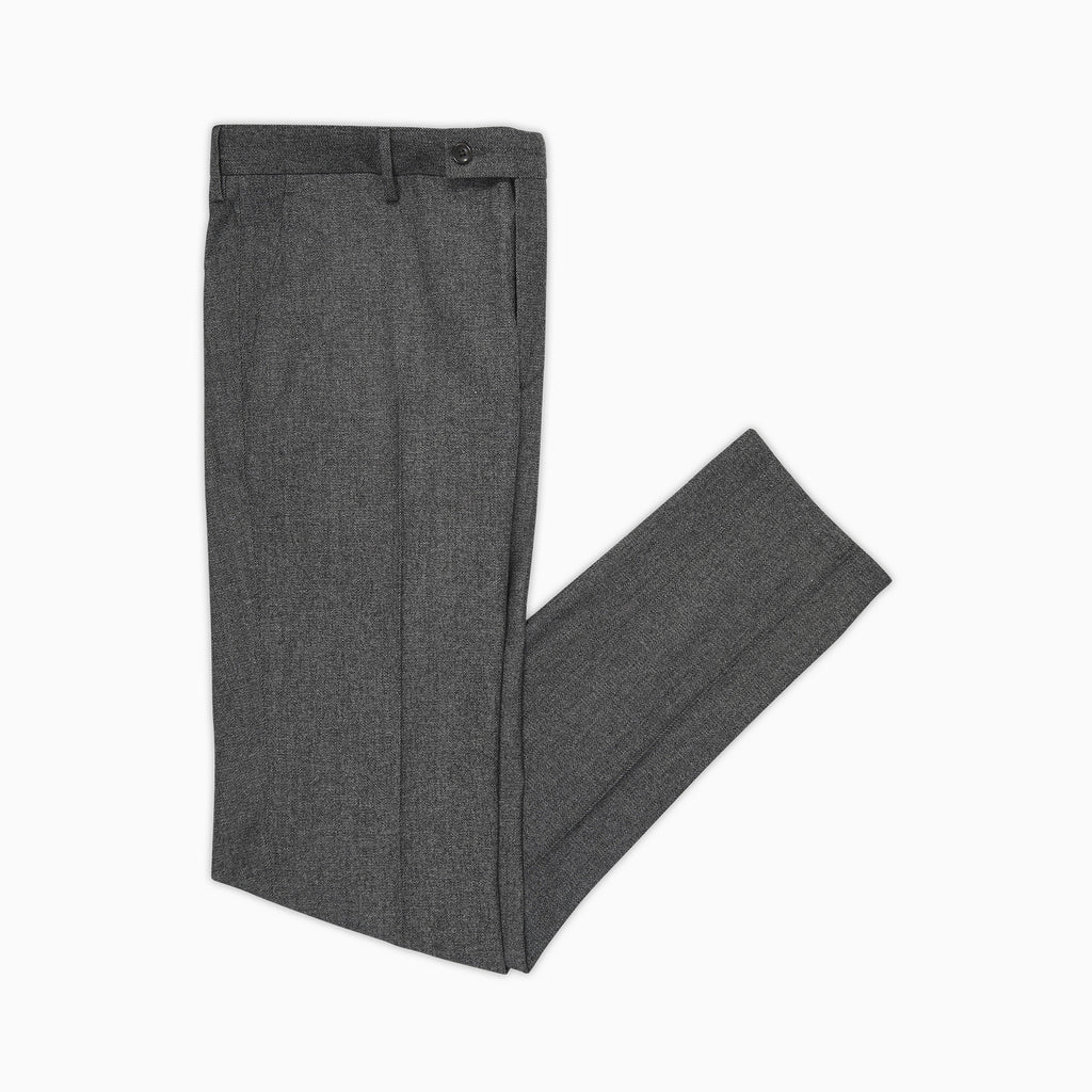 Boris Chino Denim Pants Cotton and Wool Stretch (charcoal)