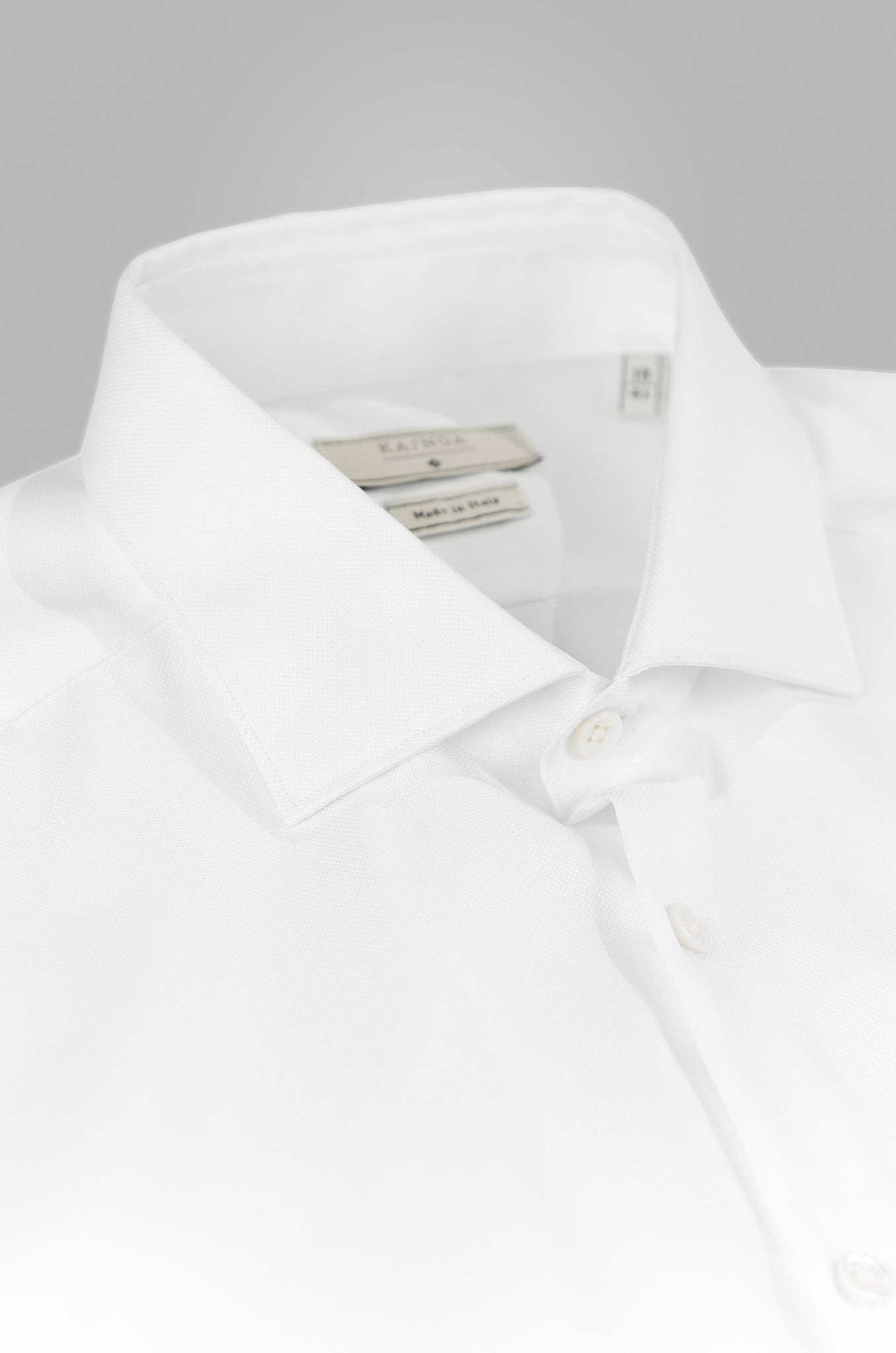 Clamenc shirt Journey Non Iron Oxford 100% Cotton (white)