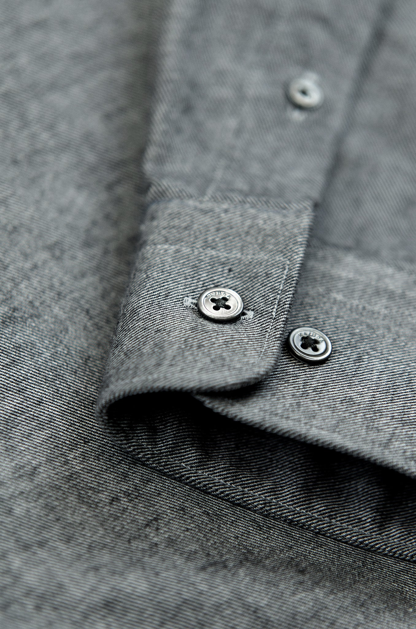 Clamenc Soft Polar Flannel Shirt (medium grey)