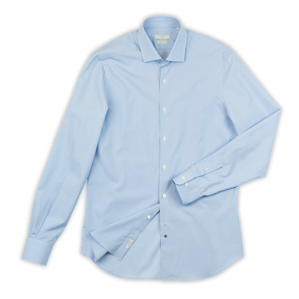 Clamenc shirt cotton popeline (sky blue)