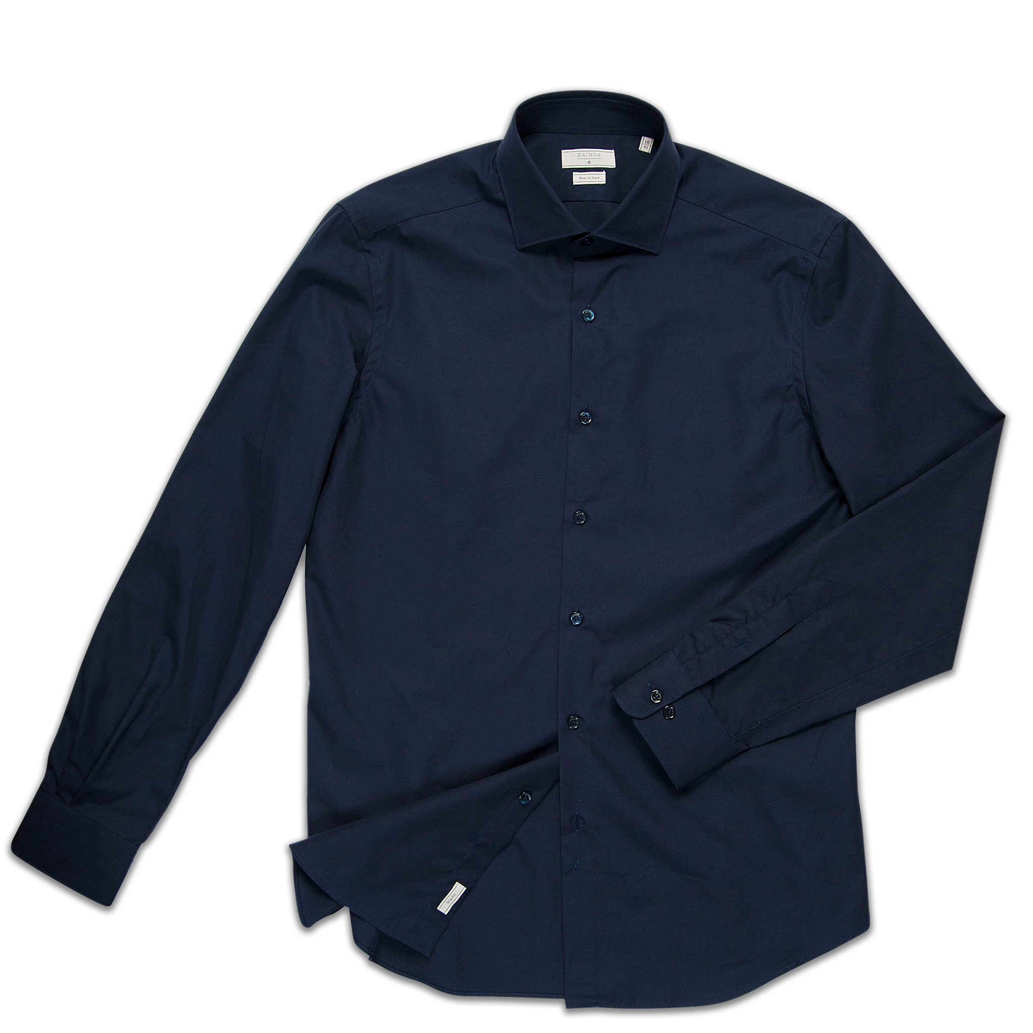 Clamenc shirt cotton popeline (dark blue)