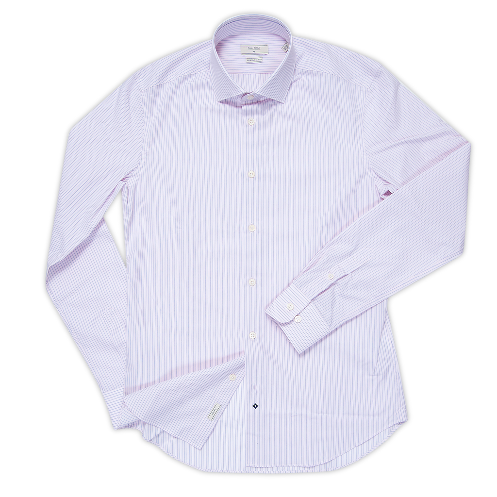 Clamenc shirt 100% cotton (elegant stripe)