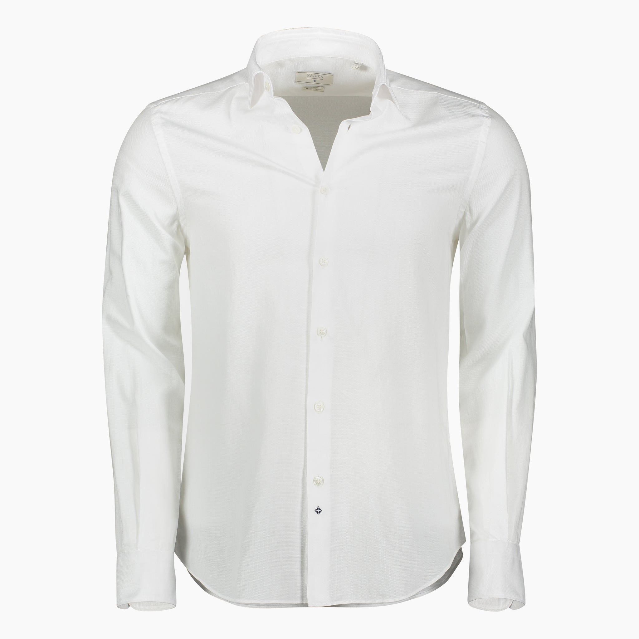 Clamenc shirt cotton popeline (white)
