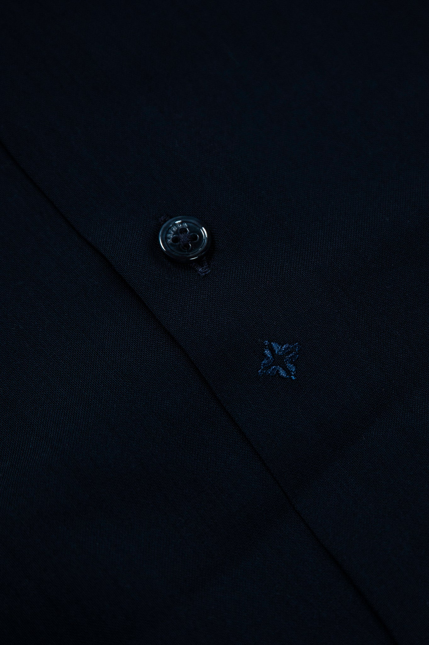 Conrad shirt twill wool (dark blue)