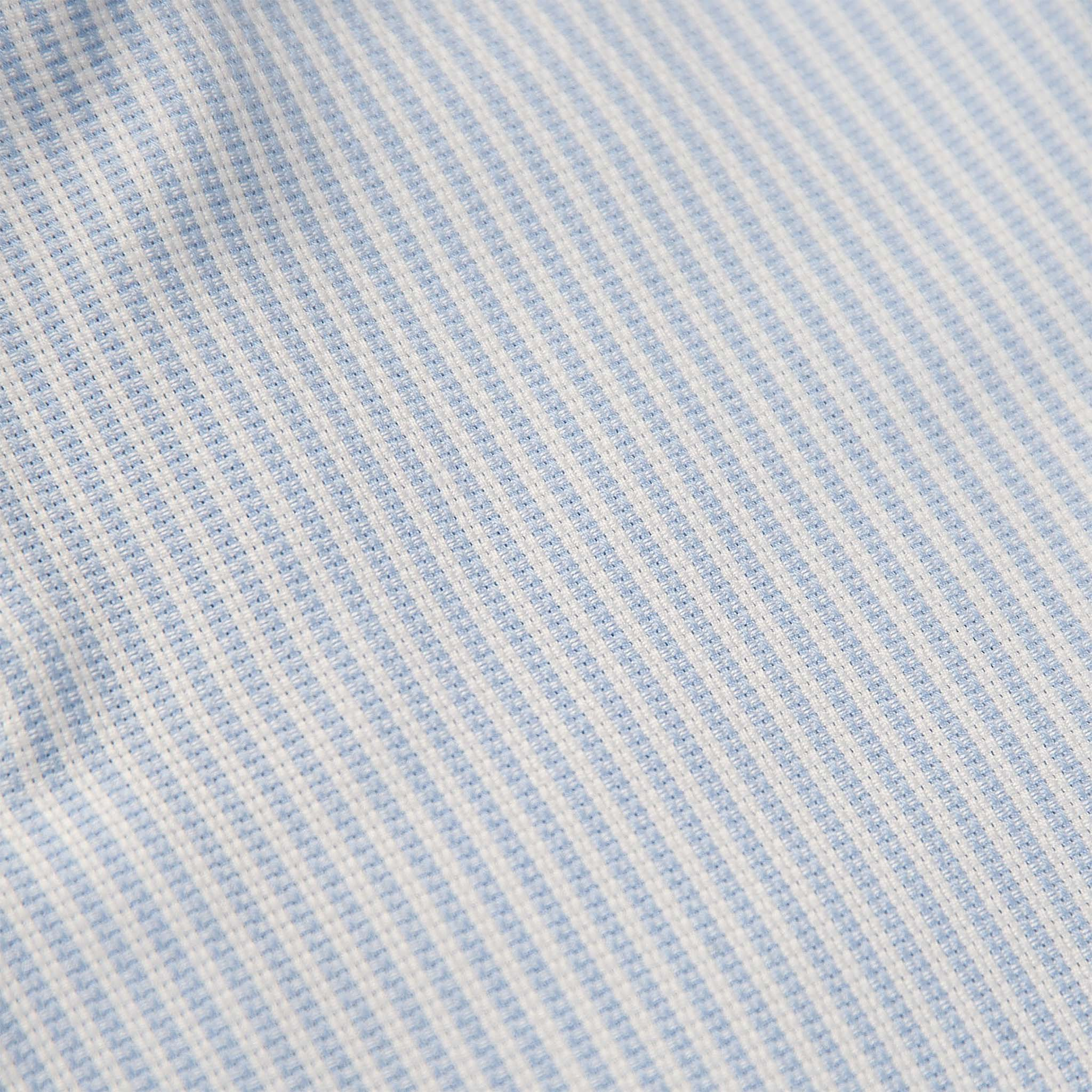 Conrad shirt sporting Open stripe (ice blue)