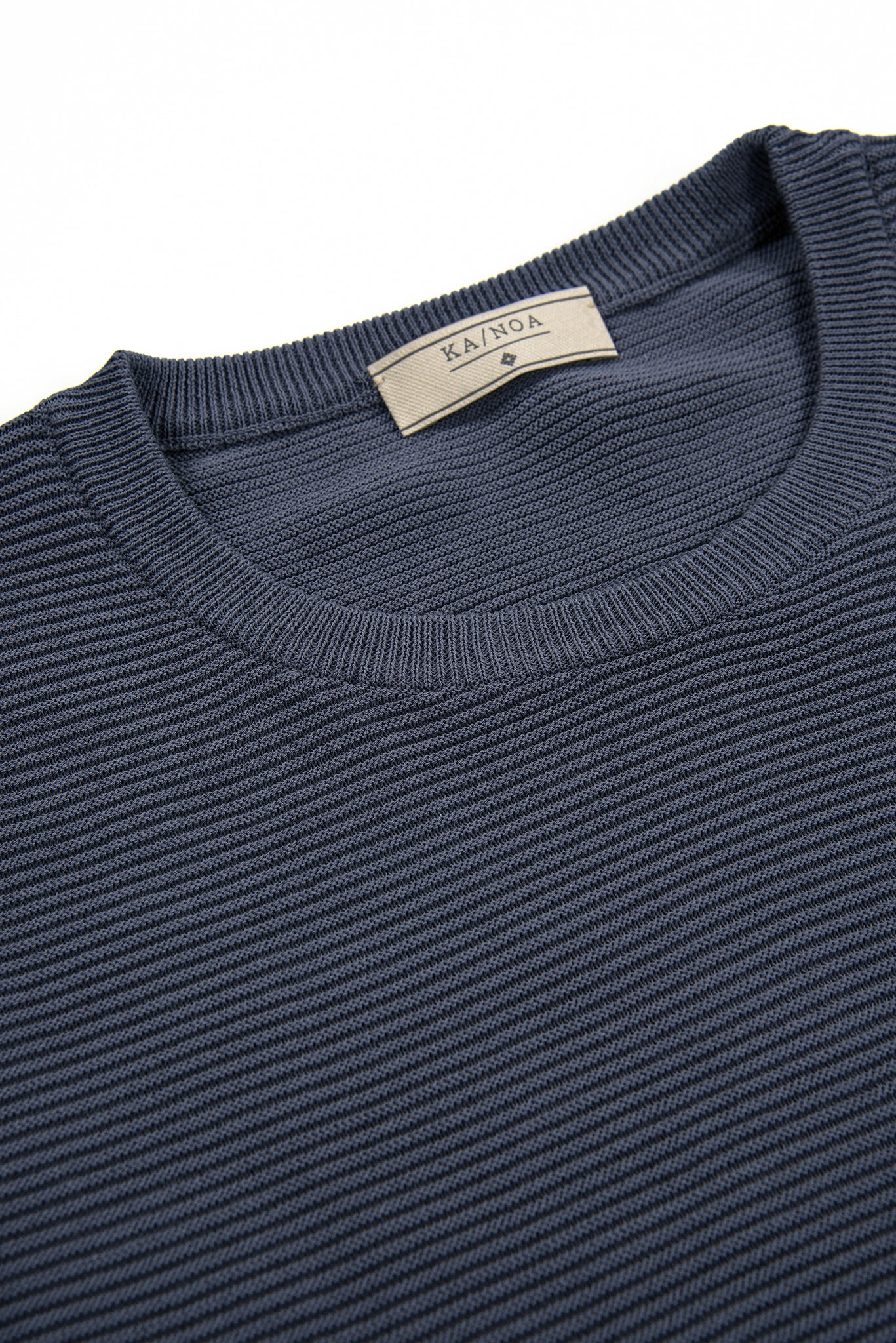 Malten T-Shirt Tricot Compact Cotton (dark blue)