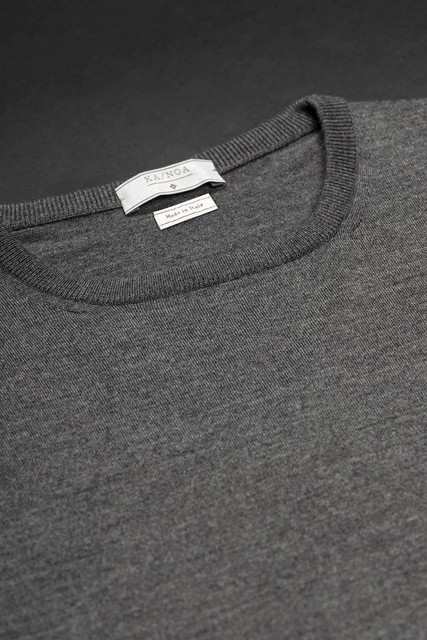 Anaclet crew-neck jumper (cashmere / stone grey)