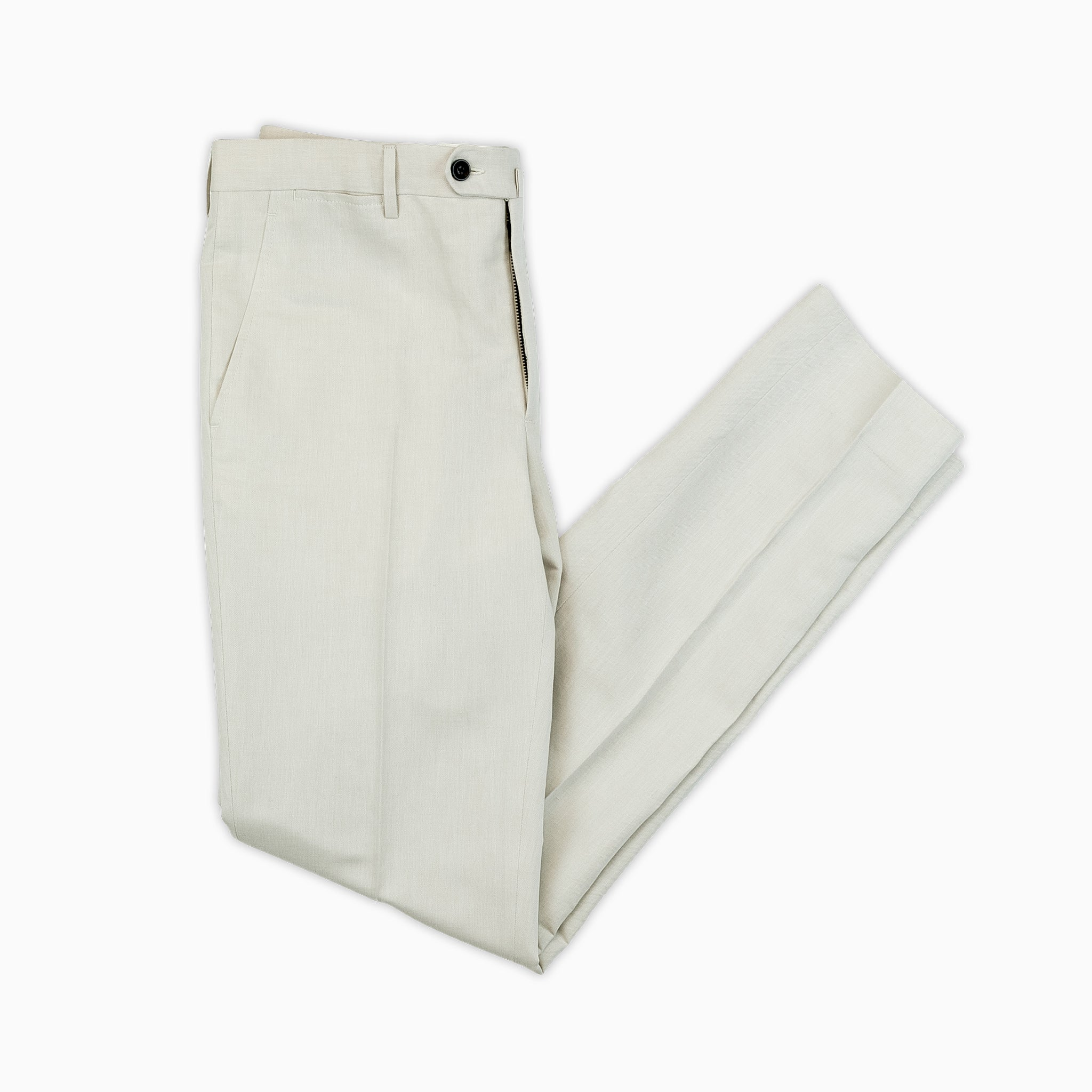 Flavien chino pants in eco herringbone (cord)