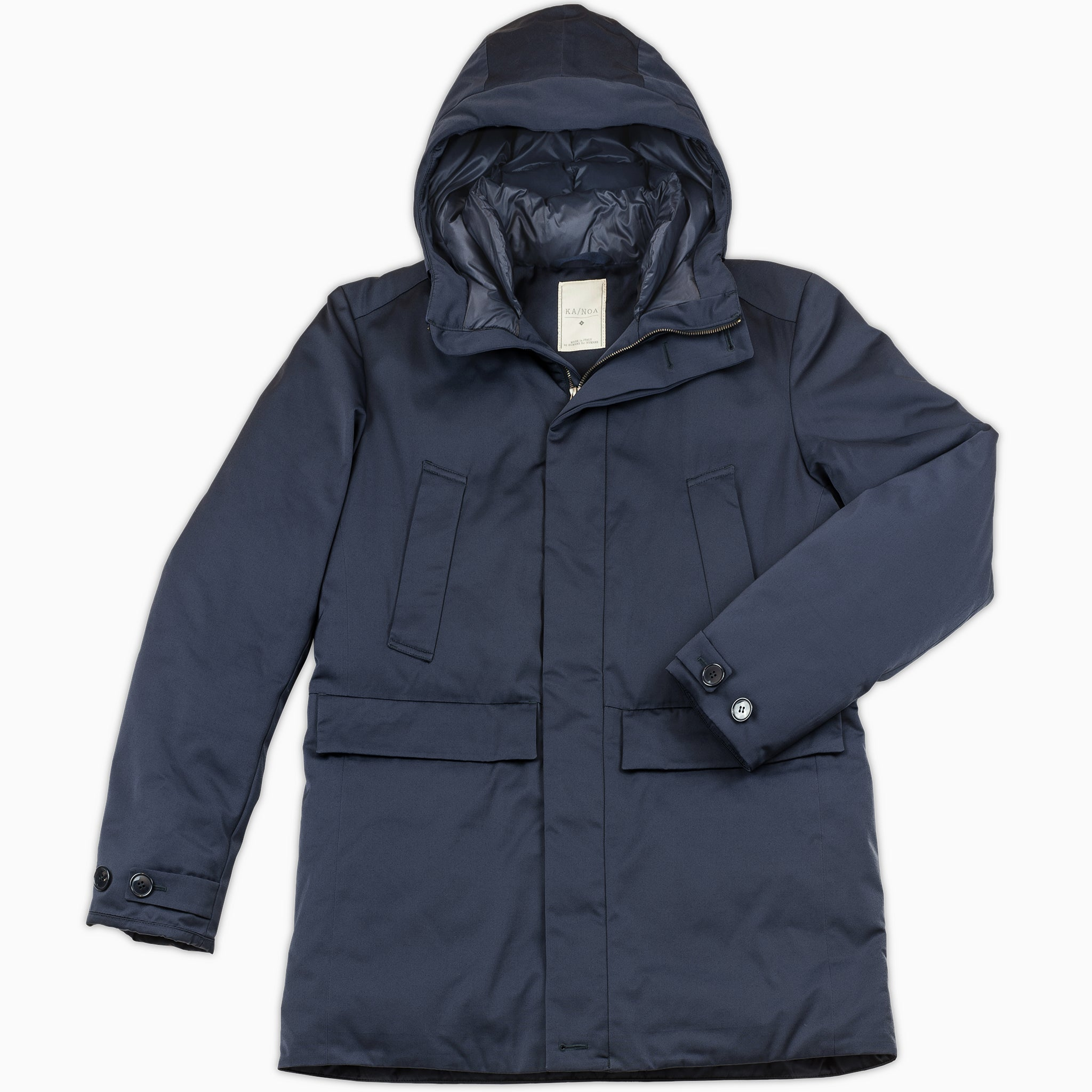 Gaspard Winter Parka (Dark Blue)