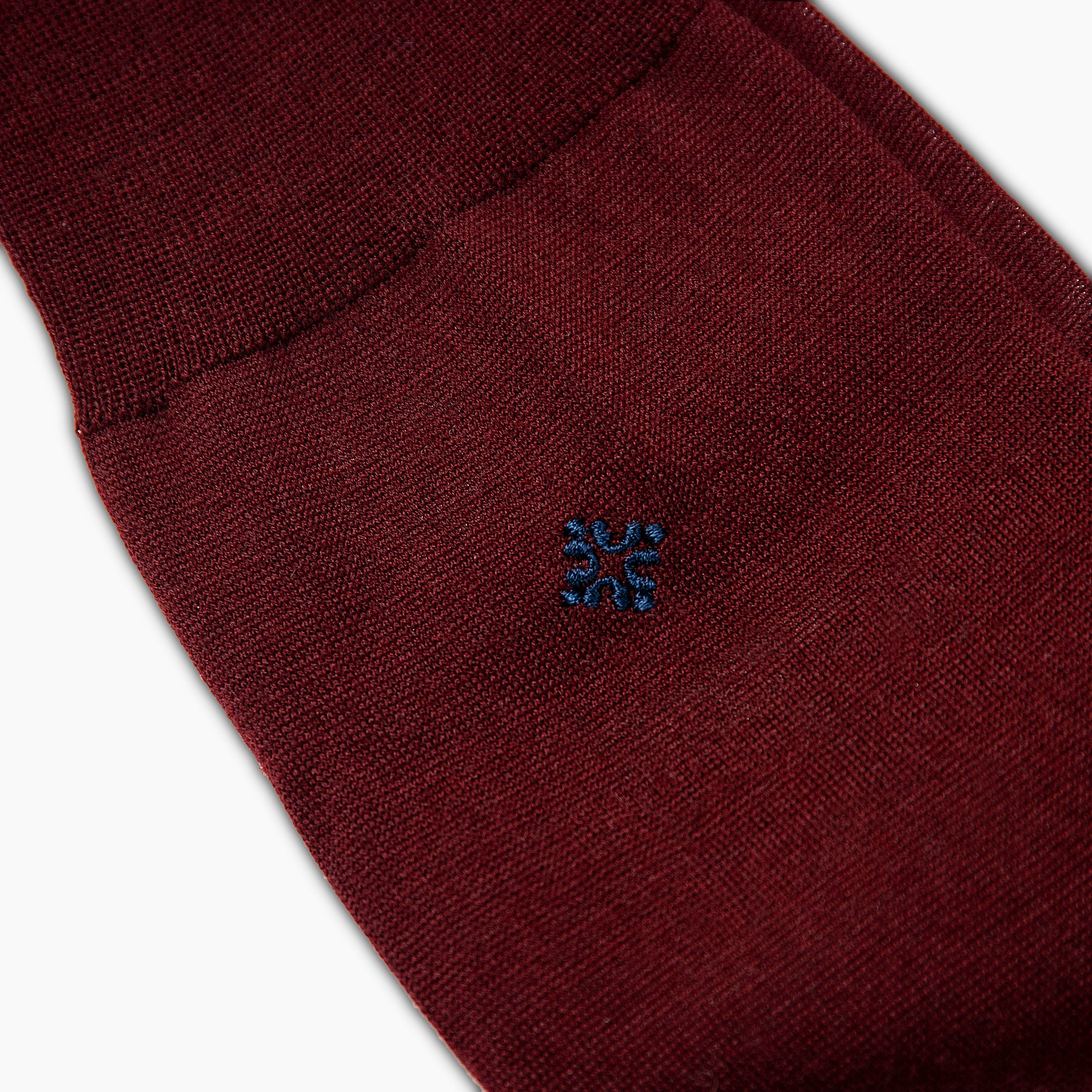 Jerome Wool/Nylon Socks (burgundy)