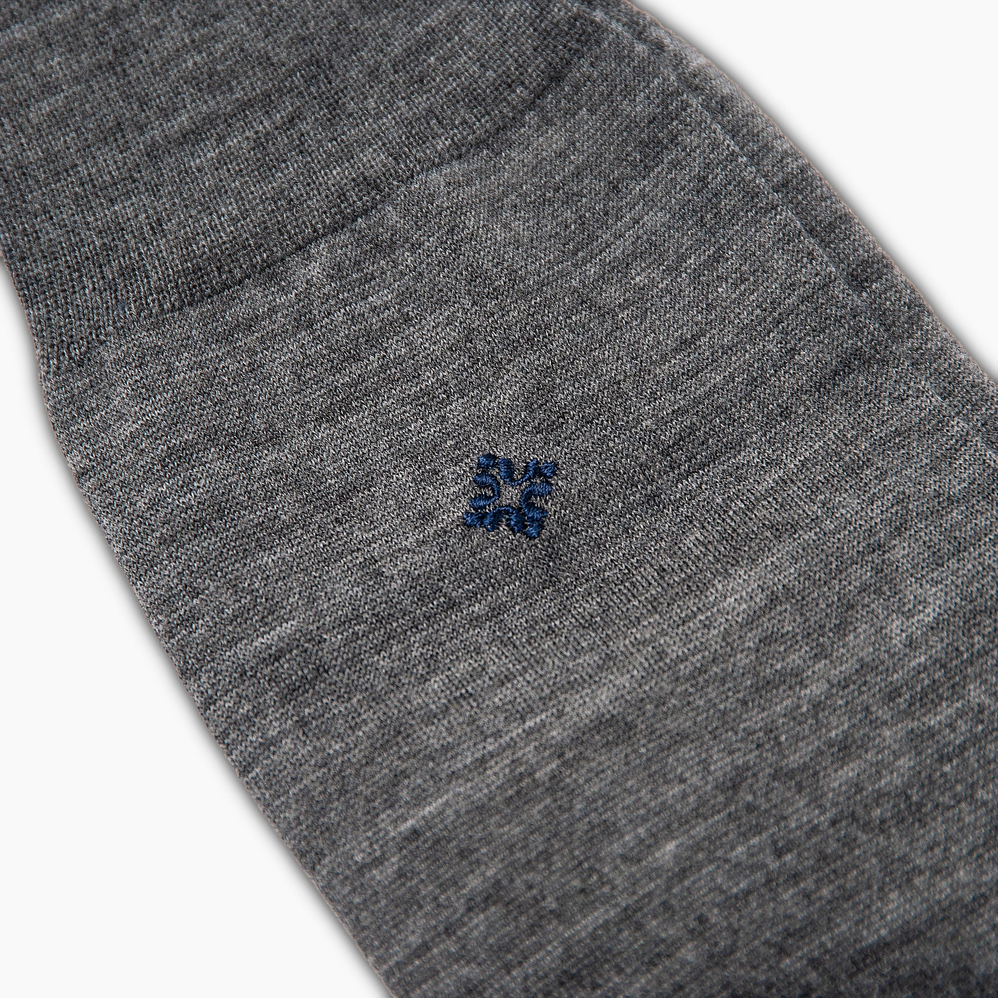 Jerome Wool/Nylon Socks (medium grey melange)
