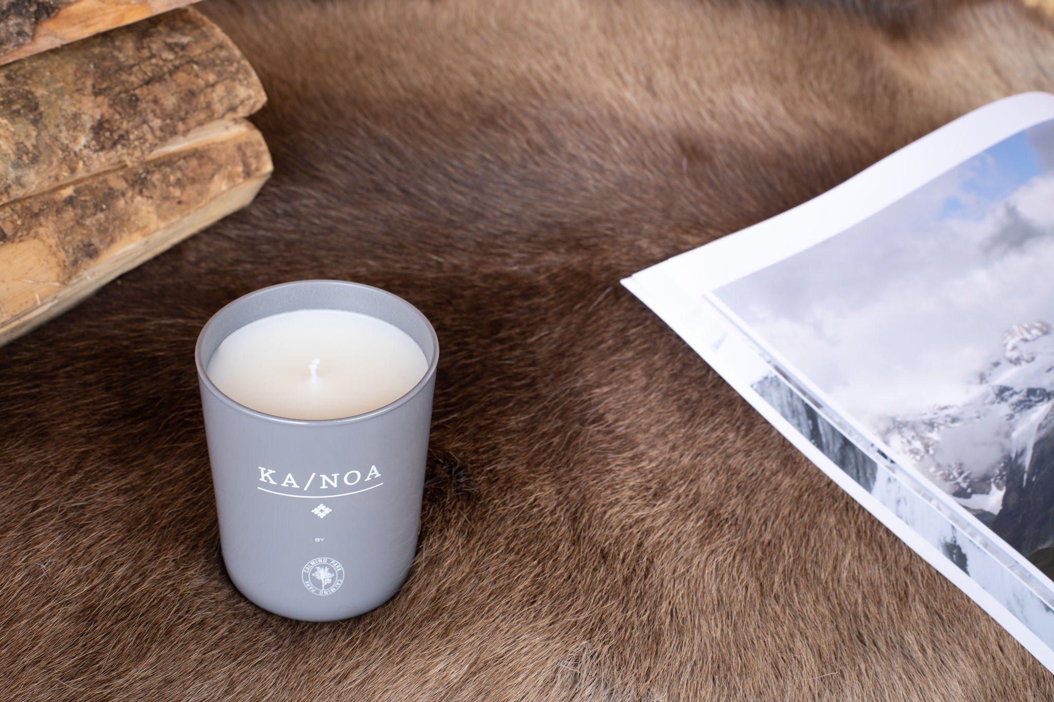 "KA/NOA Candle ""Mountain Edition"" - Tribute to Crans-Montana"