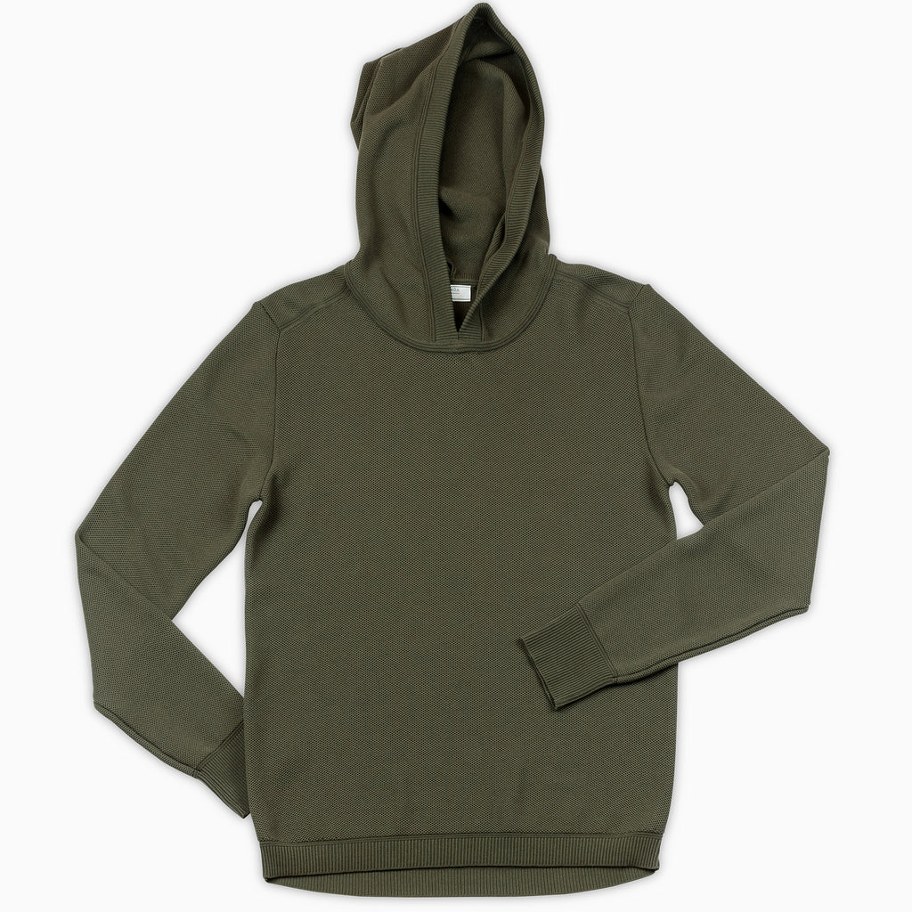 Lesien Hoody Tricot Compact Cotton (military green)