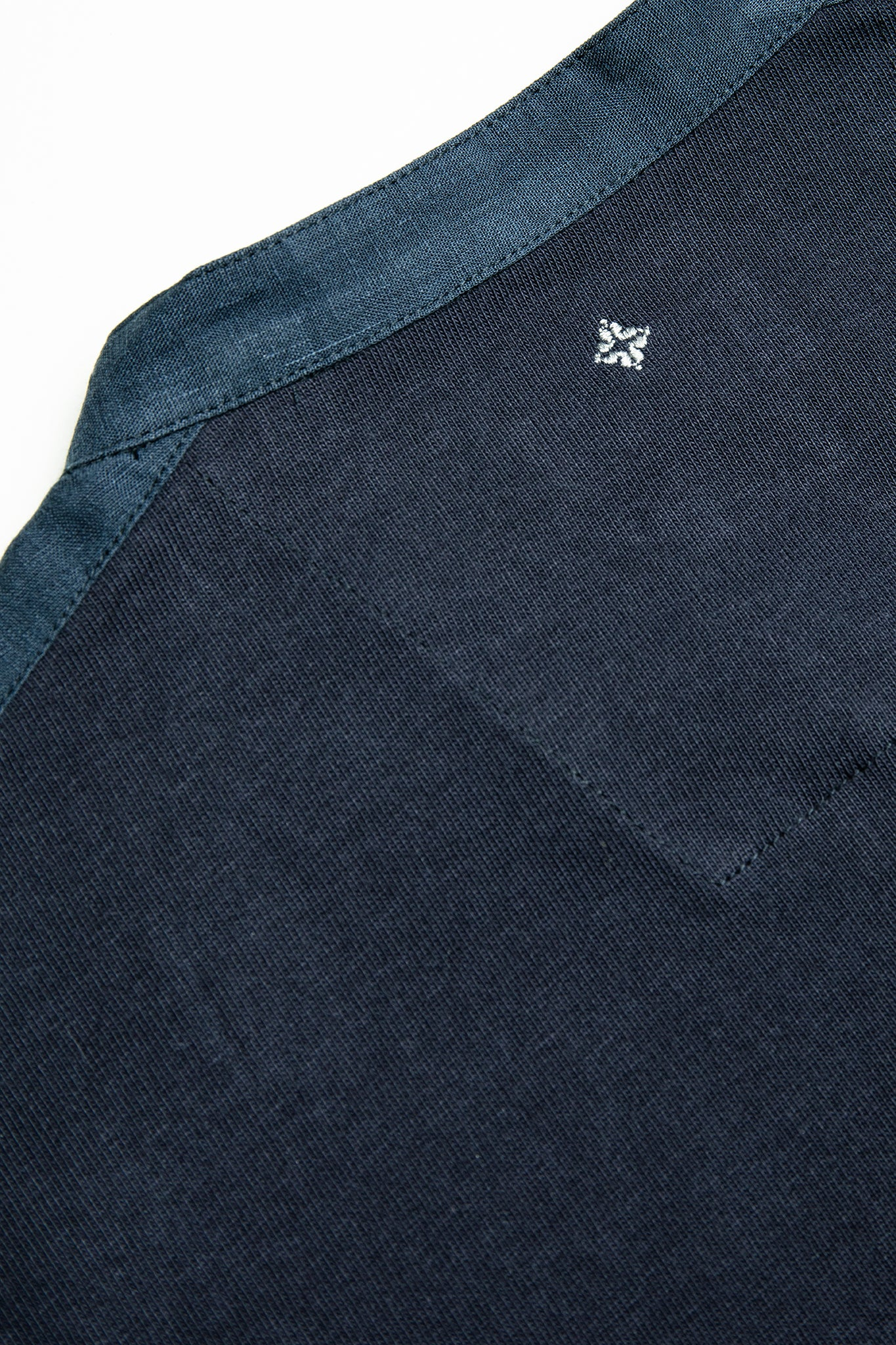 Marc t-shirt in heavy cotton jersey (dark blue)