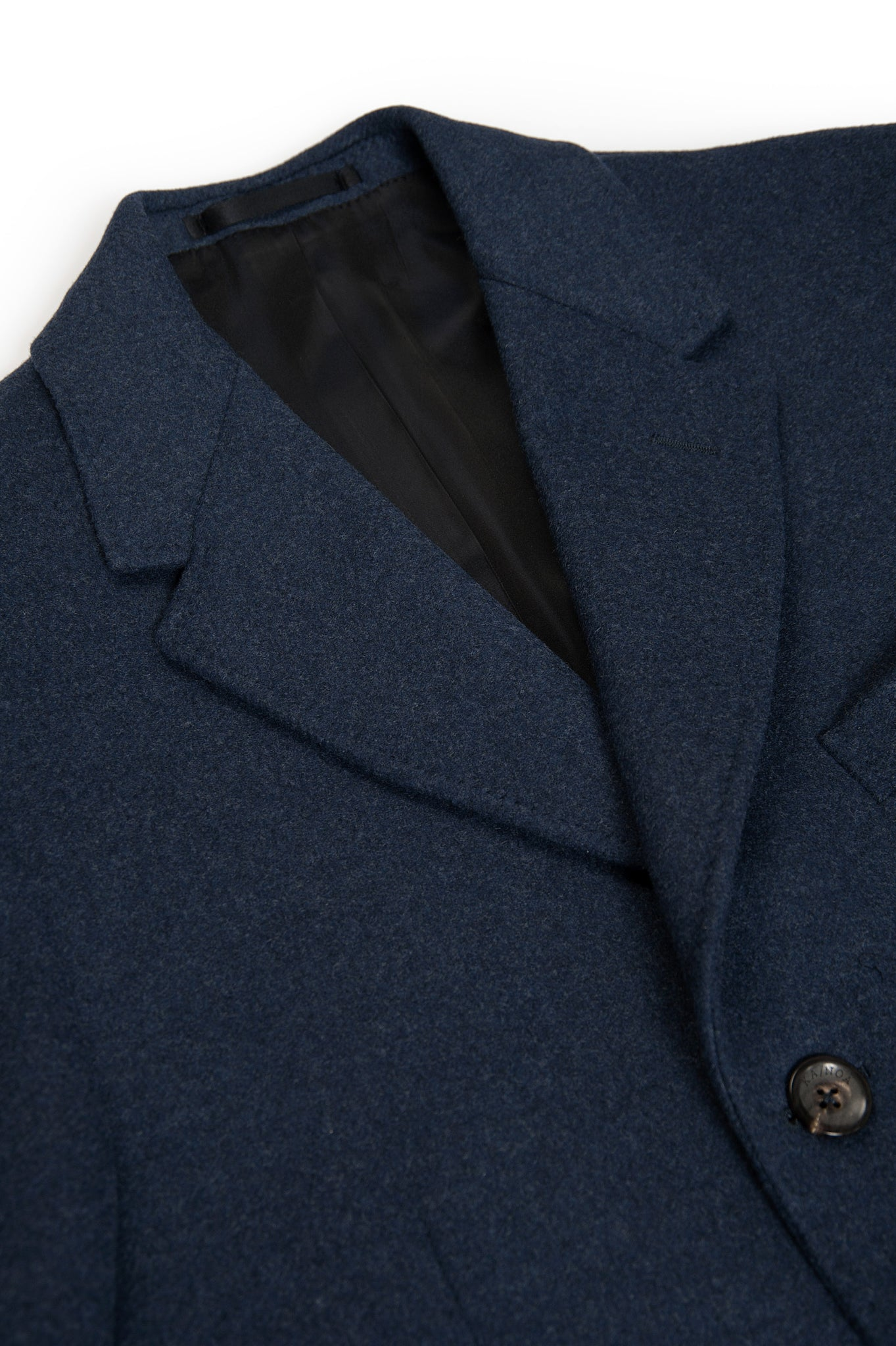 Pierre Coat Wool and Cashmere (dark blue)