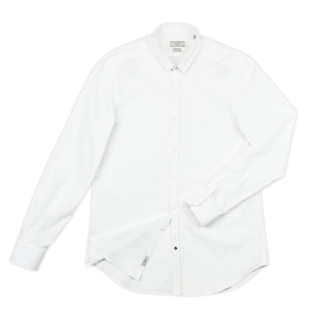 Timothee shirt cotton popeline (white)