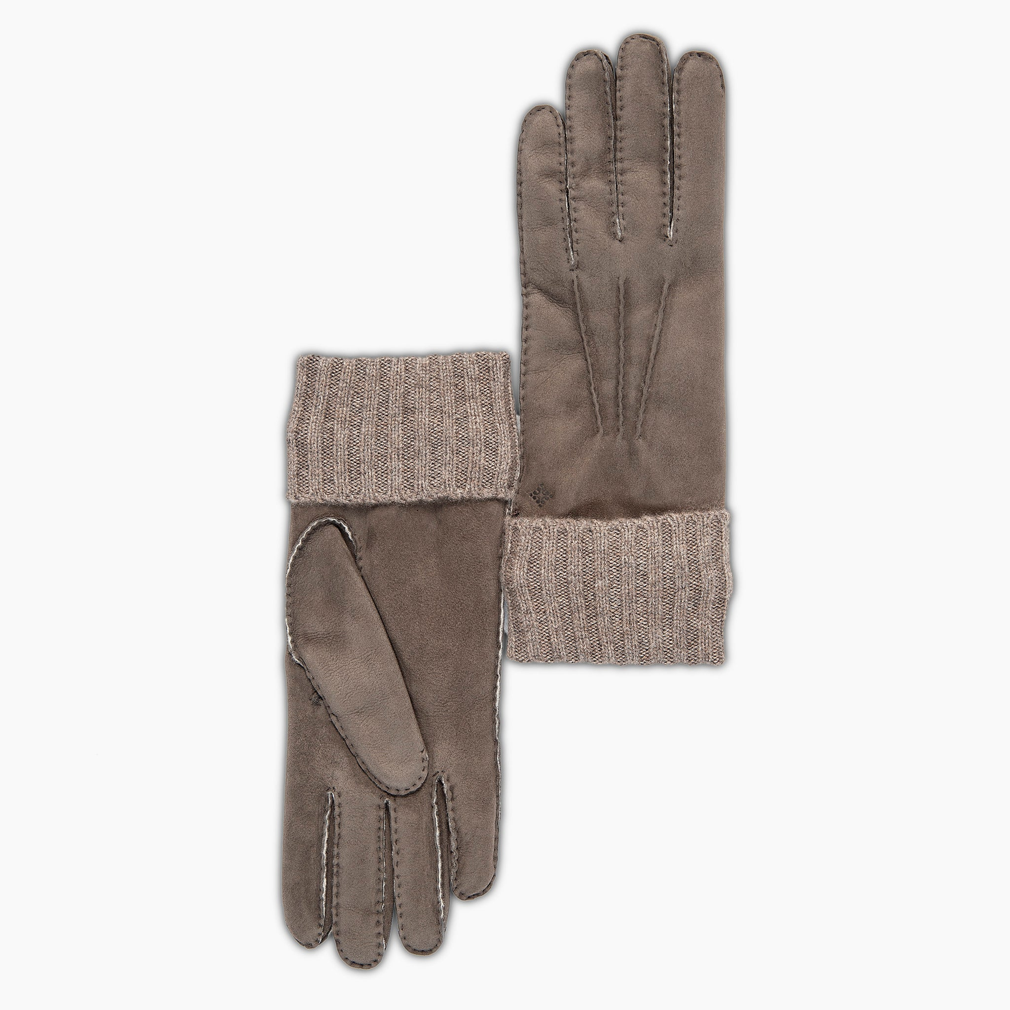 Theo Leather gloves shearling and cashmere (root)
