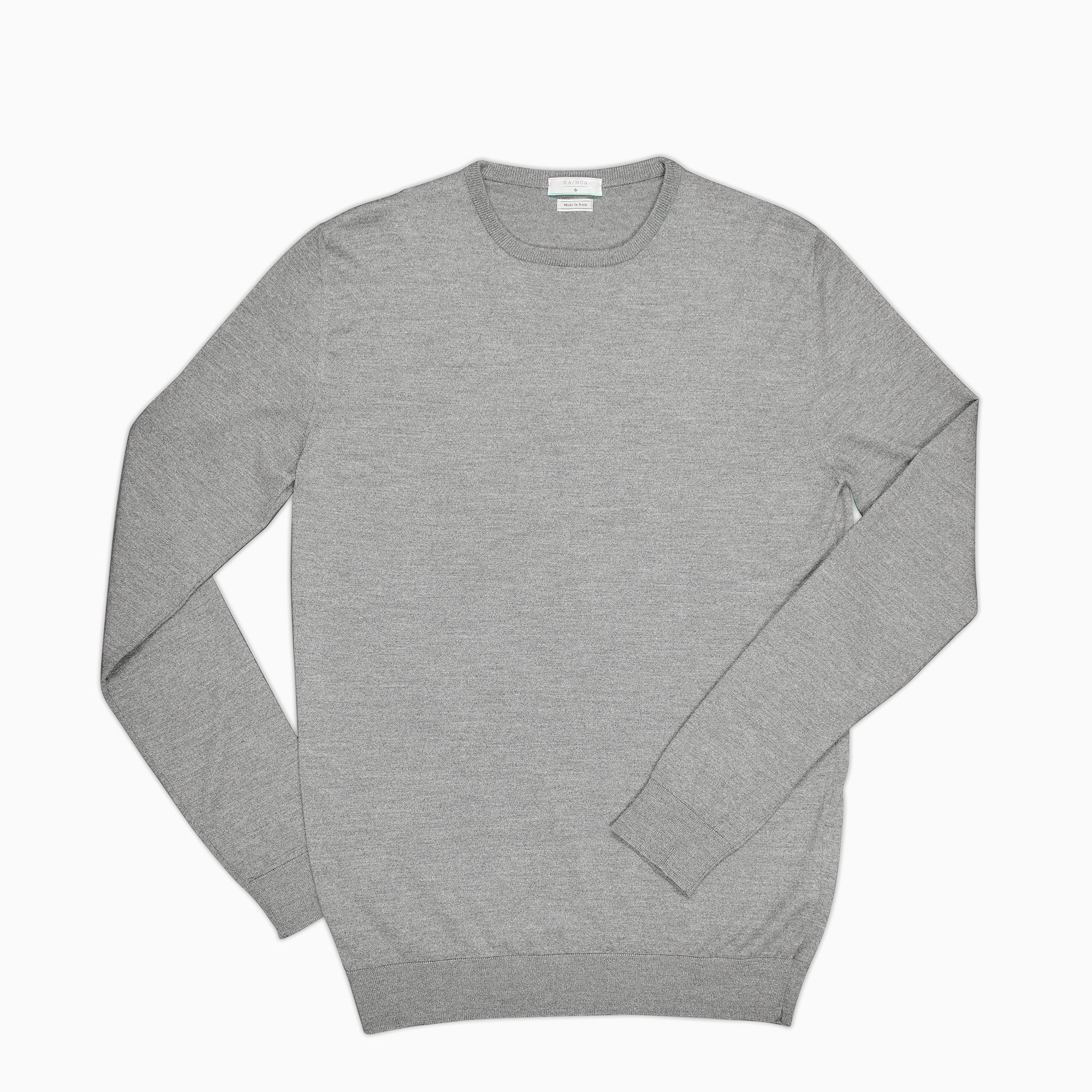 Anaclet crew-neck jumper (cashmere / charcoal)