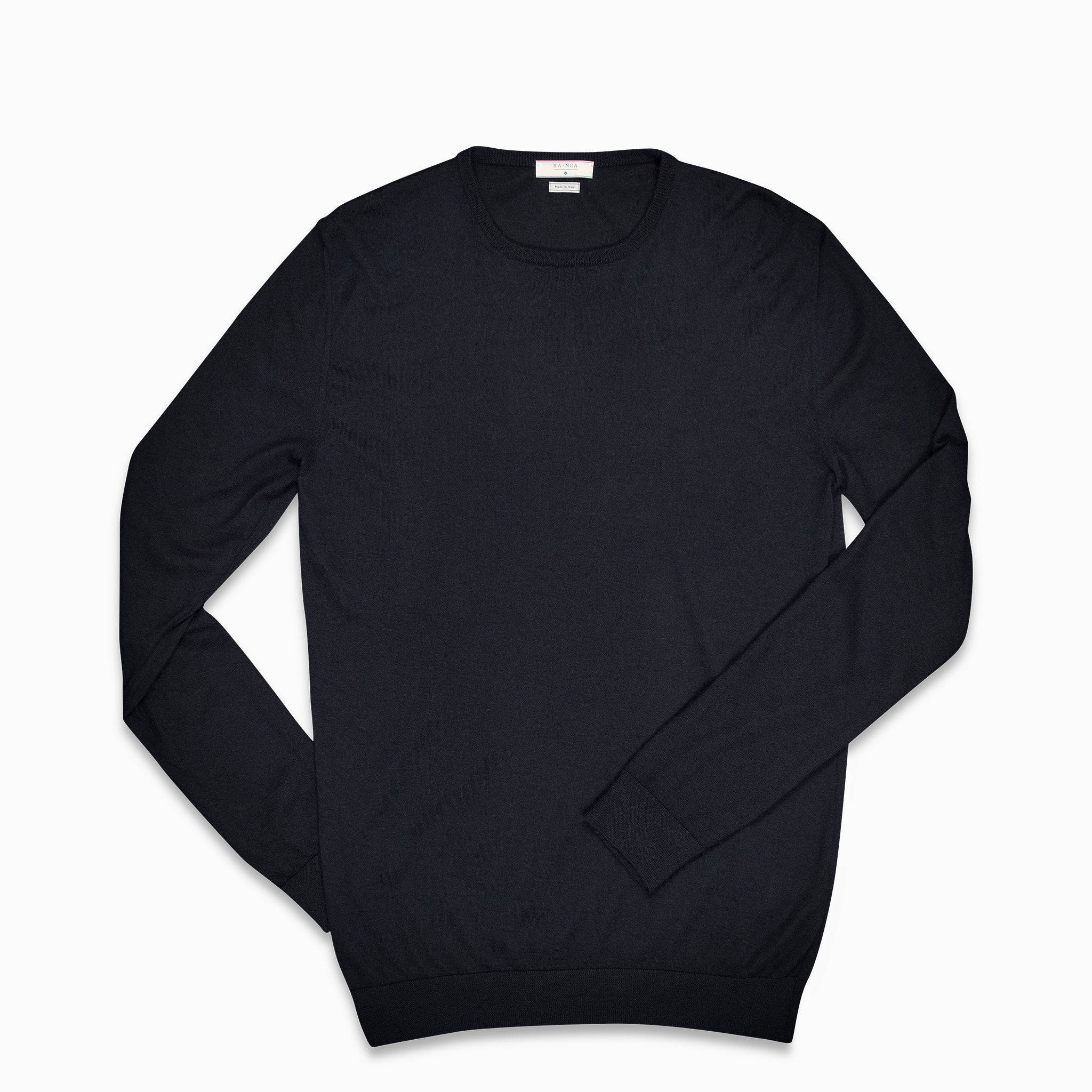 Anaclet crew-neck jumper (cashmere / dark blue)