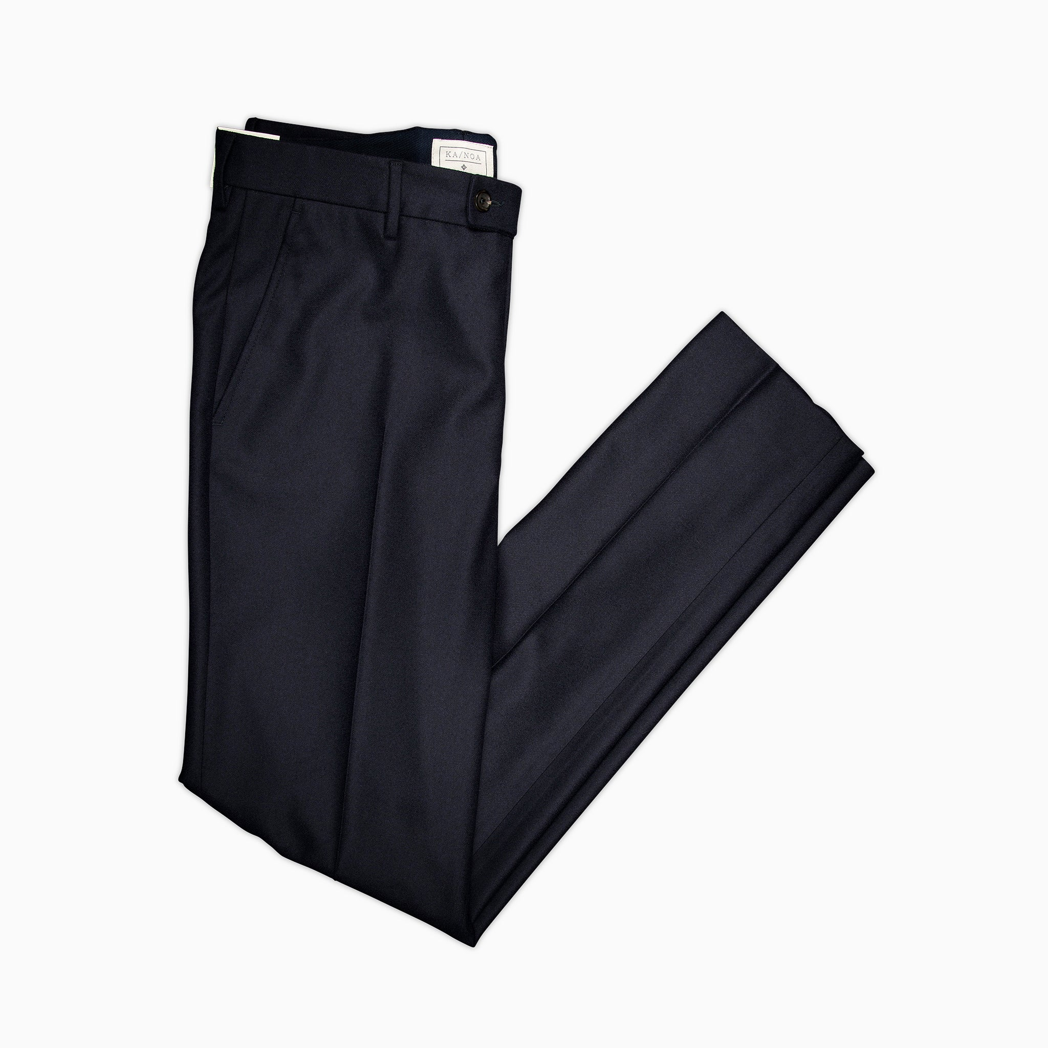 Boris chino pants Superfine Luxury Wool (dark blue)