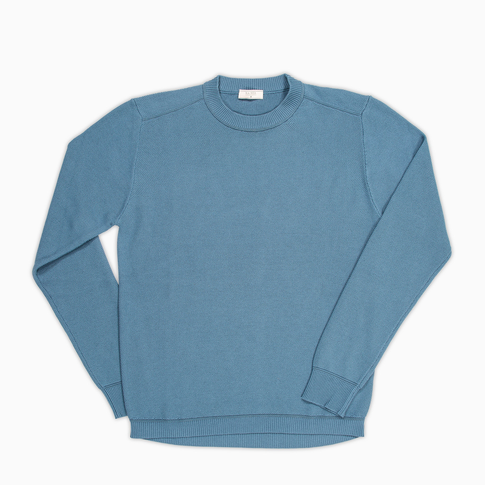 Massimen crew-neck jumper Compact Cotton (Sugar Paper)