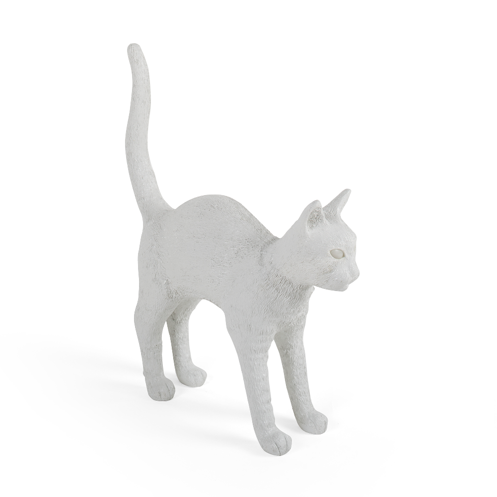 Seletti Jobby The Cat, white