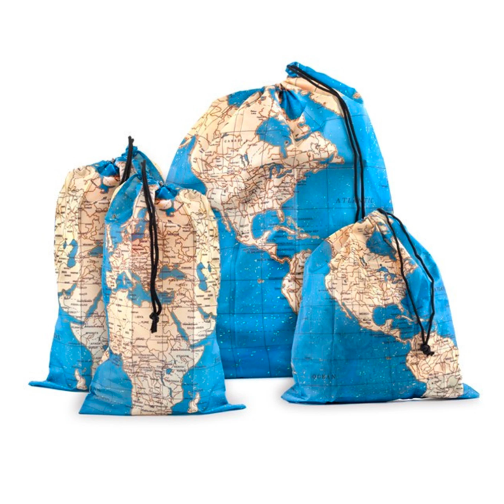 Kikkerland Travel Laundry Bag Set of 4