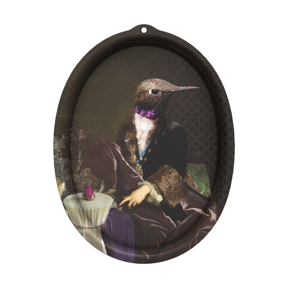 Ibride Wall Hangable Oval Tray . Honoré