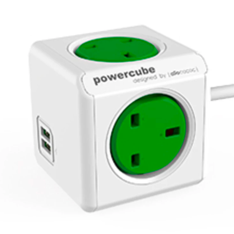 Allocacoc Powercube Extended USB 150cm