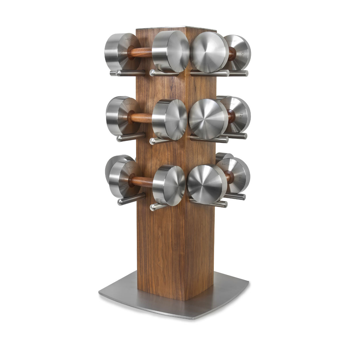 HOCK Design DISKUS SUPERTOWER luxury dumbells set, 10-20kg