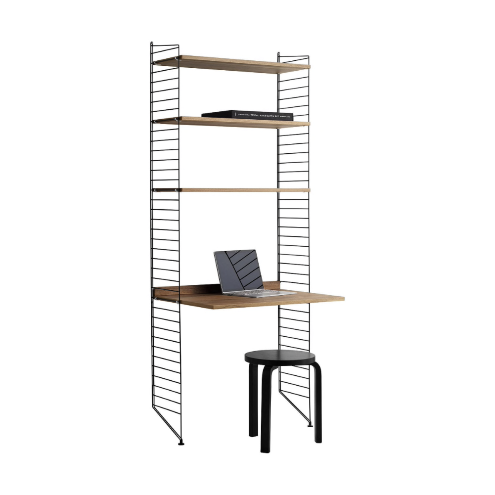 String Shelving System Workstation