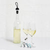 Umbra Bauble Wine Charms & Topper Set