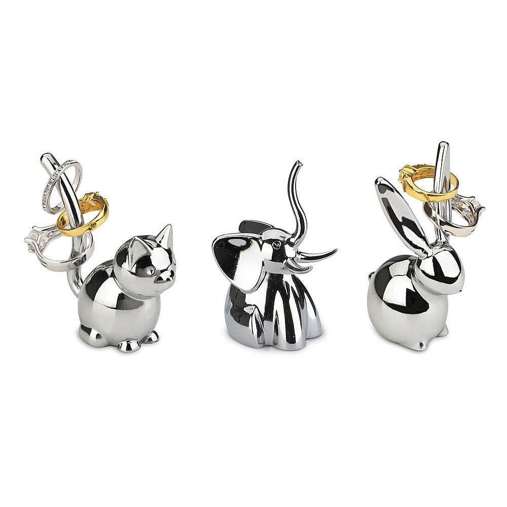 Umbra Zoola ring holder, set of 3