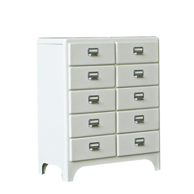 Dulton Cabinet 2 Column by 5 Drawers