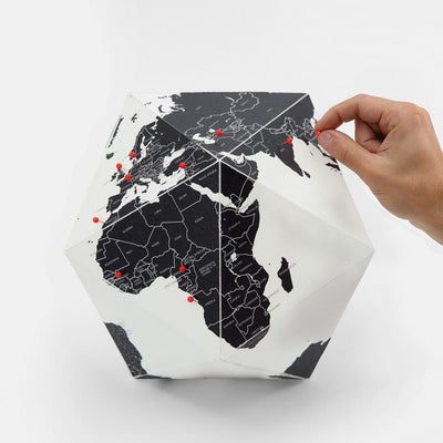 Palomar S.r.l. Here Globe Medium . By Countries . 30cm