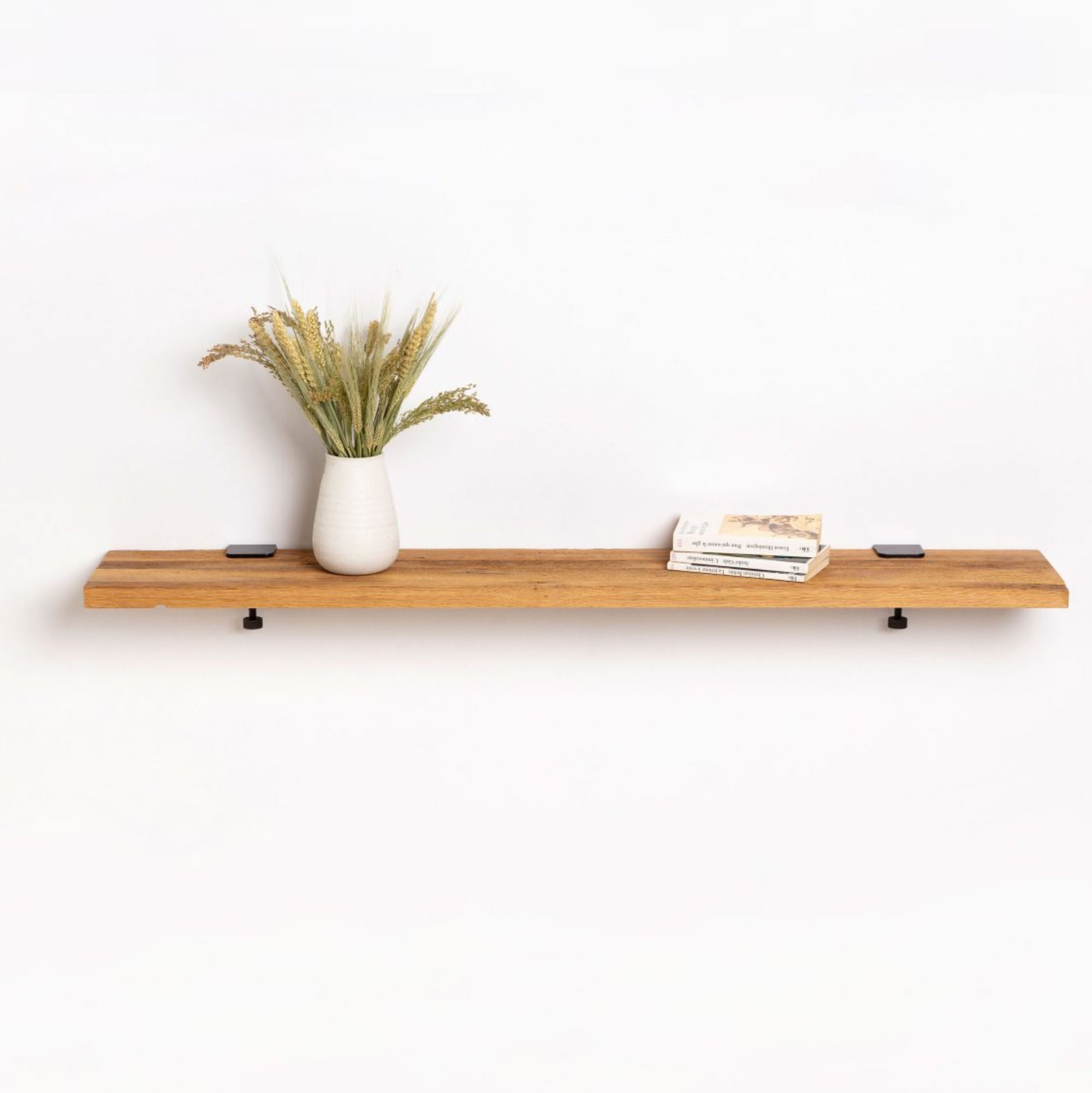 Tiptoe Reclaimed wood shelf, 120 * 20cm