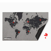 Palomar S.r.l. PinWorld Mini Wall Map Black . 124x66cm