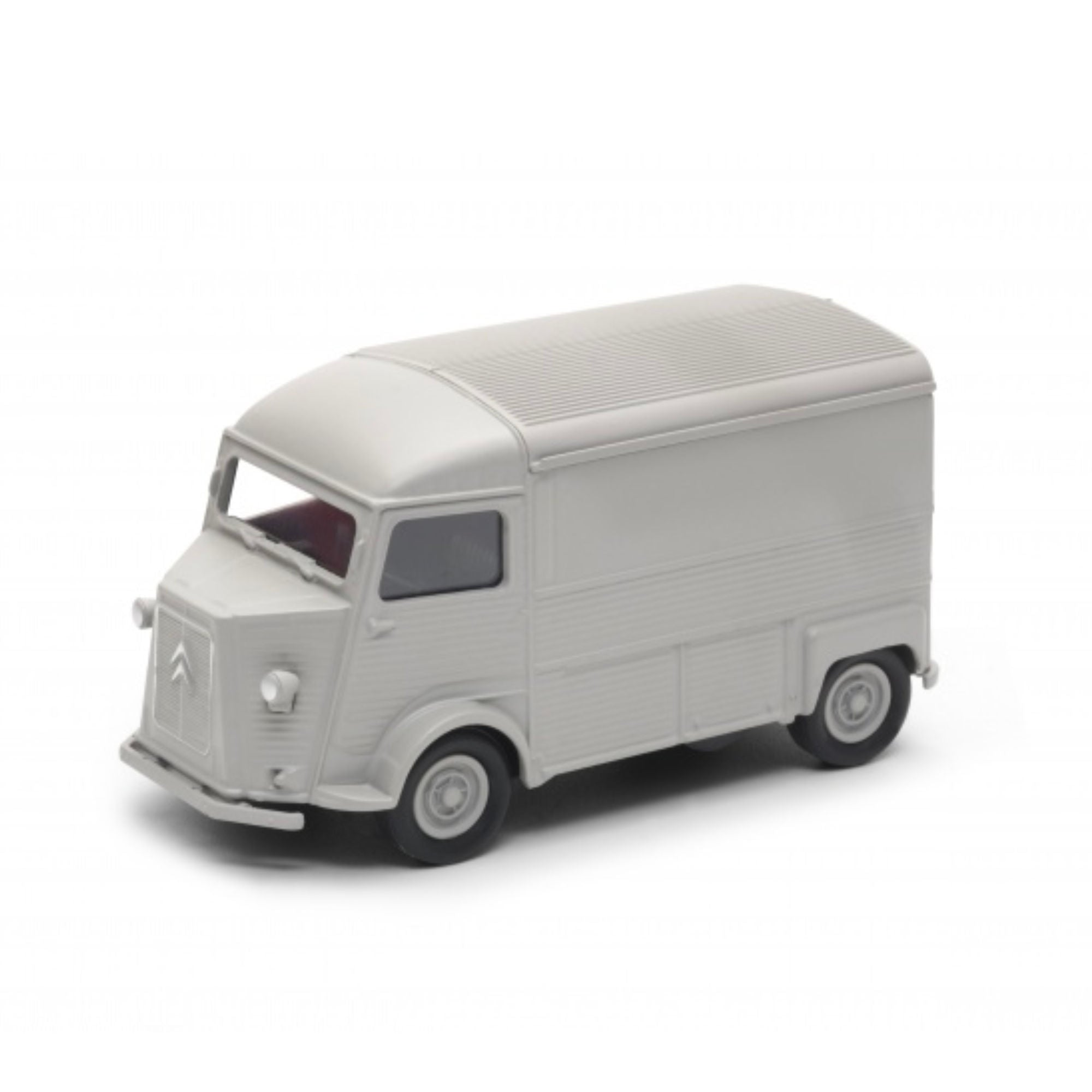 Welly Citroen Type H 1:24 Diecast Model , Light Grey