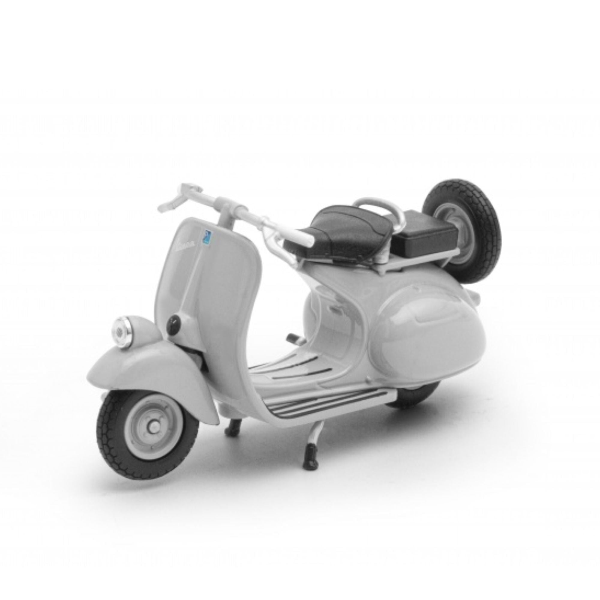 Welly Vespa 125cc 1:24 Diecast Model , Light Grey