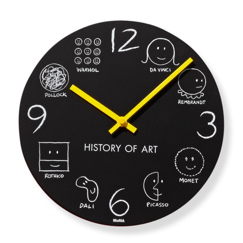 Moma History of Art Wall Clock