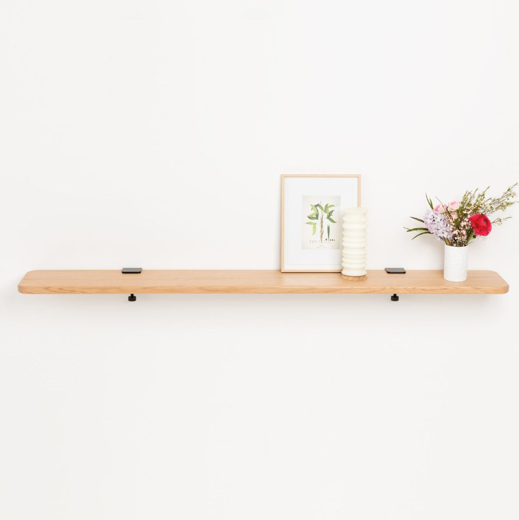 Tiptoe Solid oak shelf, 150 * 20cm
